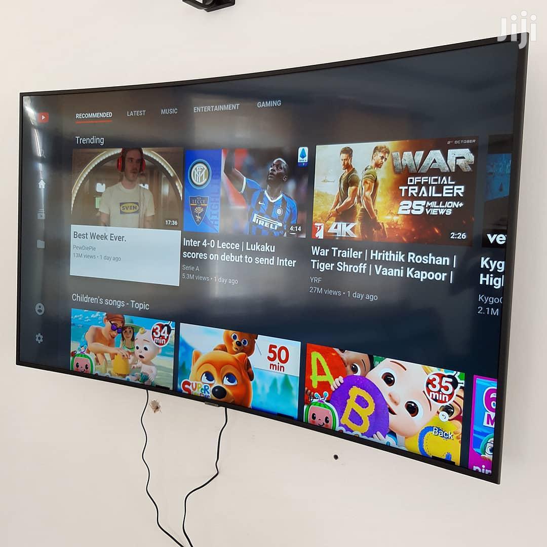 "Archive: Samsung 65"" Smart UHD 4K Curved TV"