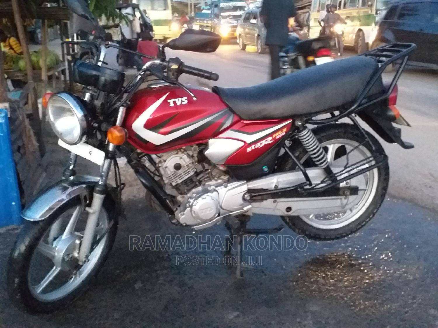 TVS Apache 180 RTR 2020 Red | Motorcycles & Scooters for sale in Temeke, Dar es Salaam, Tanzania