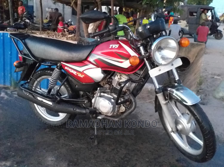 TVS Apache 180 RTR 2020 Red