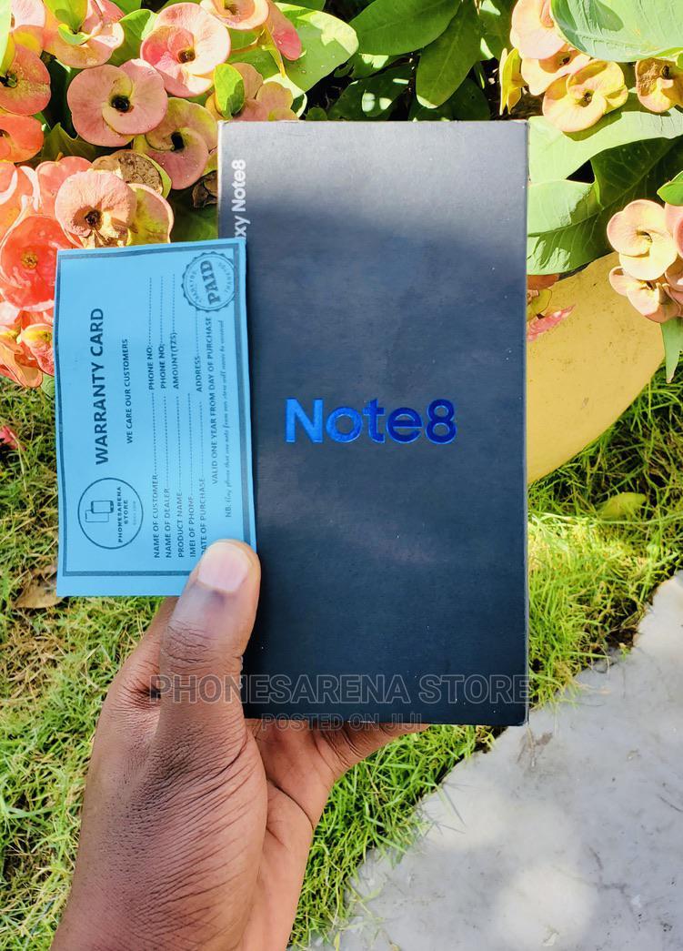Samsung Galaxy Note 8 64 GB Black | Mobile Phones for sale in Ilala, Dar es Salaam, Tanzania