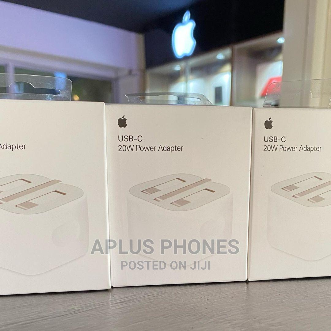 iPhone Original Fast Charger 20W | Accessories for Mobile Phones & Tablets for sale in Kinondoni, Dar es Salaam, Tanzania