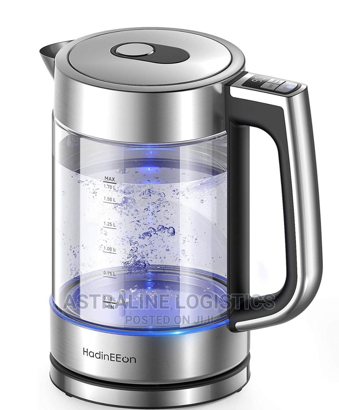 Hadineeon Electric Kettle, Various Temperature Tea Kettle