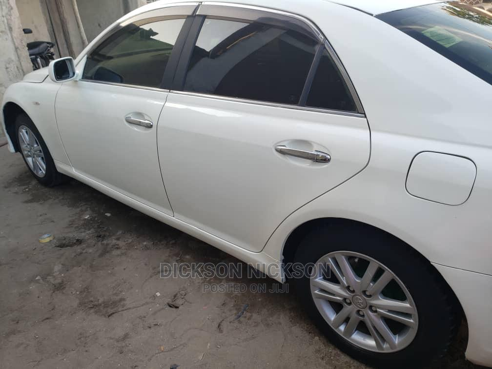 Toyota Mark X 2004 White   Cars for sale in Kinondoni, Dar es Salaam, Tanzania