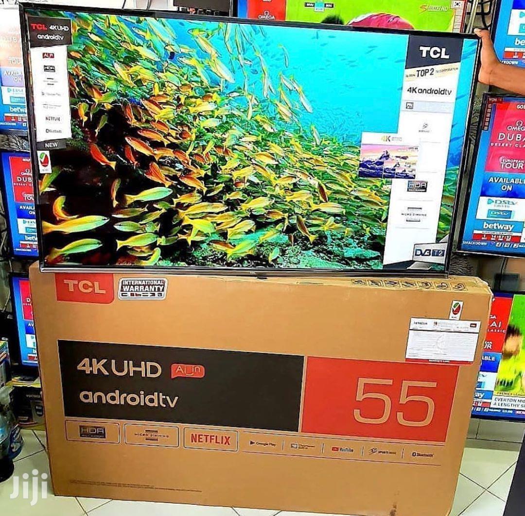 TCL 55-inch 4K Ultra HD Smart LED TV