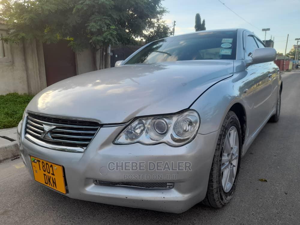 Toyota Mark X 2003 Silver | Cars for sale in Kinondoni, Dar es Salaam, Tanzania