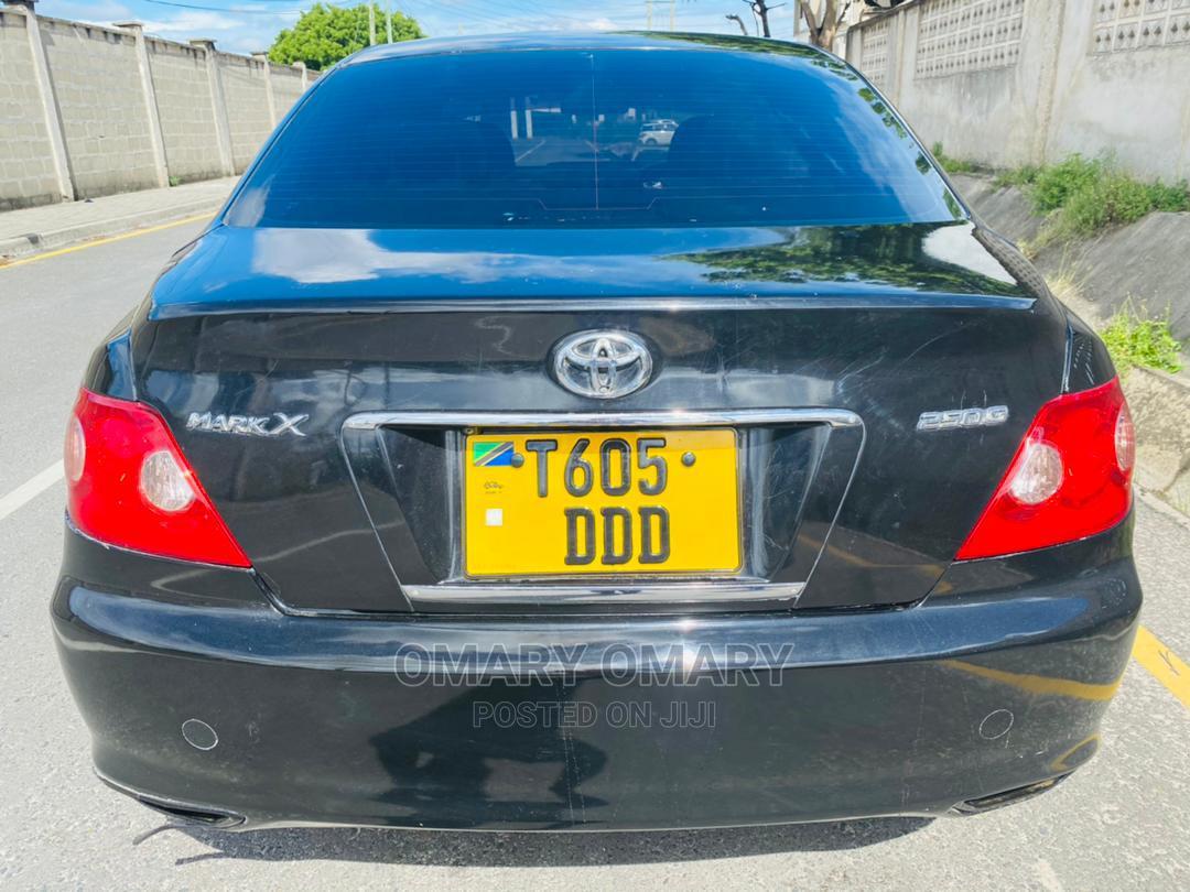 Toyota Mark X 2005 Black   Cars for sale in Kinondoni, Dar es Salaam, Tanzania