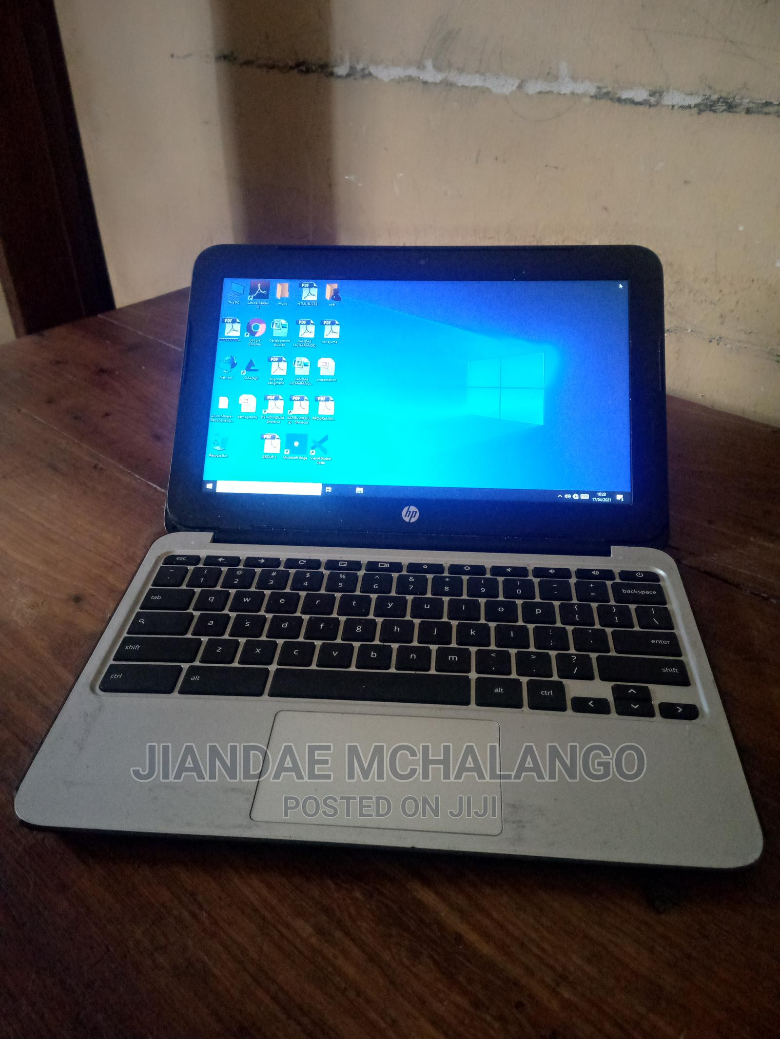 Archive: Laptop HP Chromebook 4GB Intel Celeron SSD 16 GB