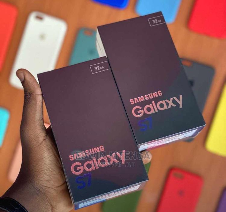 New Samsung Galaxy S7 32 GB Black   Mobile Phones for sale in Kinondoni, Dar es Salaam, Tanzania