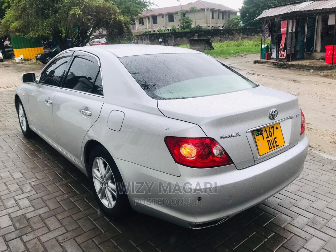 Toyota Mark X 2005 Silver   Cars for sale in Kinondoni, Dar es Salaam, Tanzania