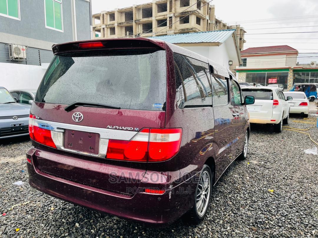 Toyota Alphard 2006 Brown | Cars for sale in Kinondoni, Dar es Salaam, Tanzania