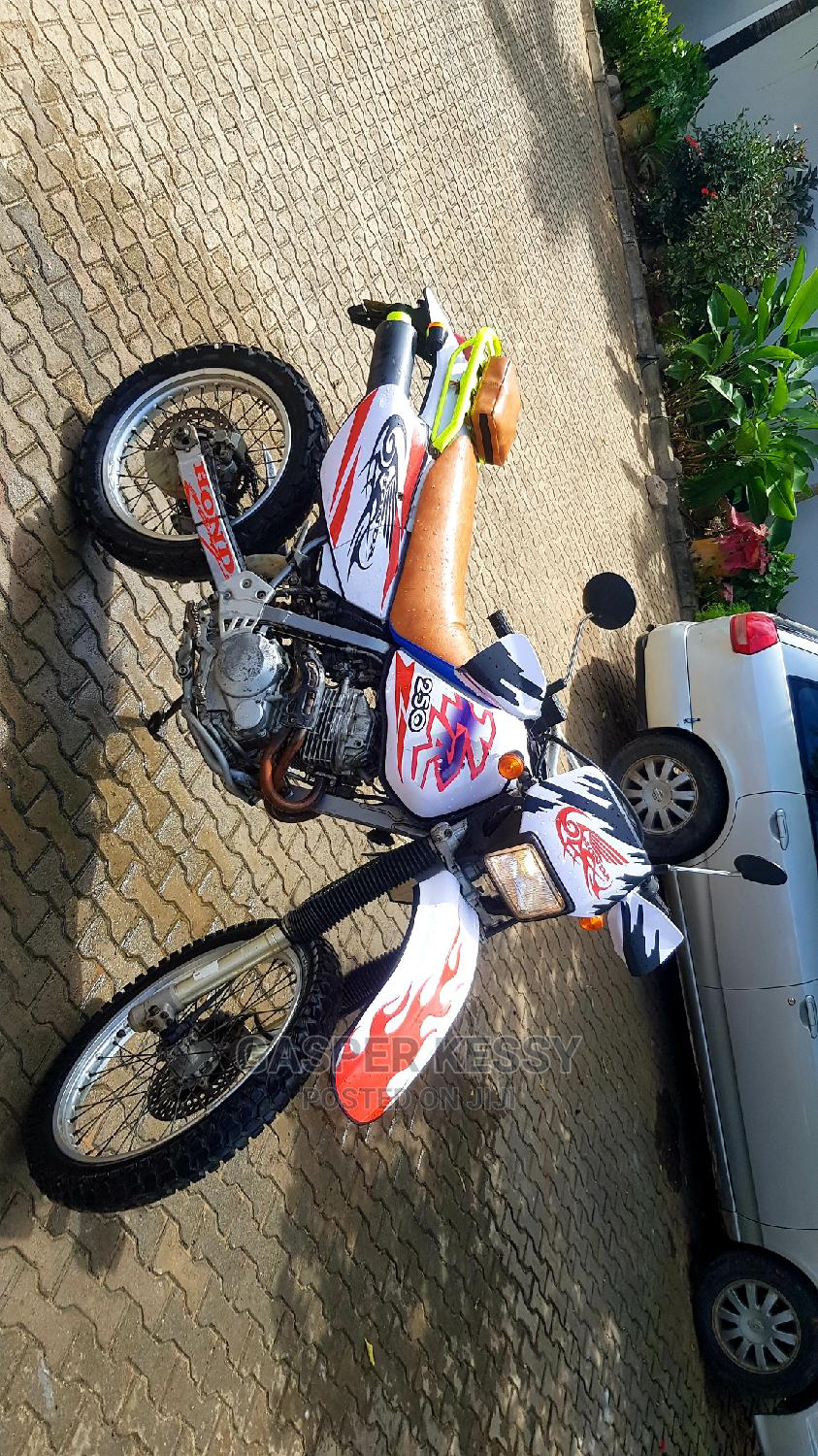 Honda 2014 White   Motorcycles & Scooters for sale in Kinondoni, Dar es Salaam, Tanzania