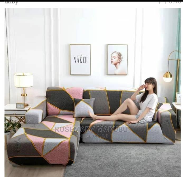 L-Shape Sofa Cover 3:2:1:1