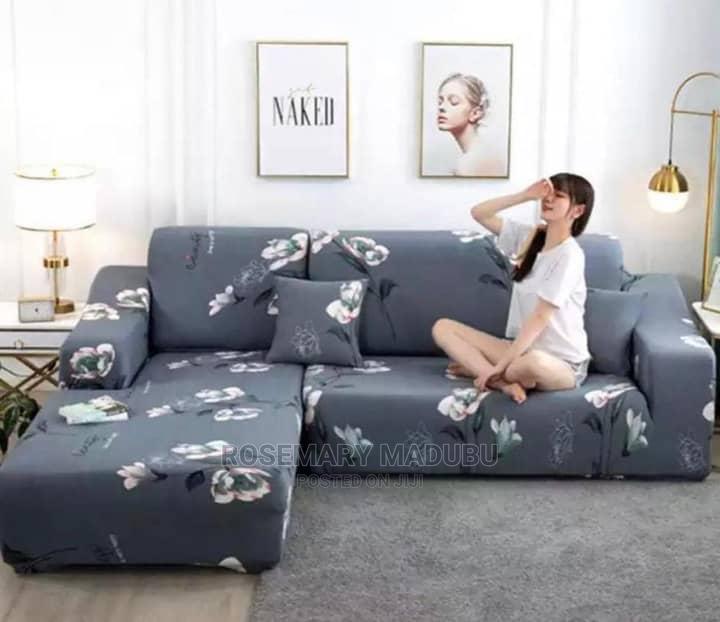 L-Shape Sofa Cover 3:2:1:1 | Home Accessories for sale in Kinondoni, Dar es Salaam, Tanzania