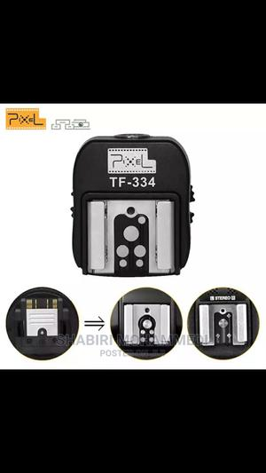 Pixel TF-334 Mi Hot Shoes Adapter Convertingfor Sony Tocanon | Accessories & Supplies for Electronics for sale in Dar es Salaam, Kinondoni