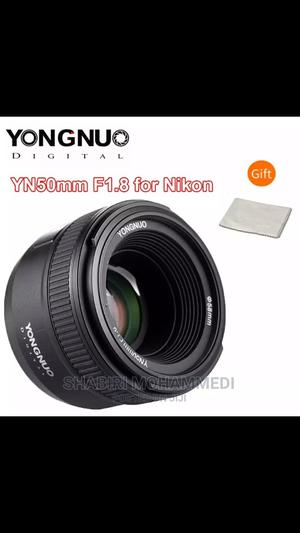 YONGNUO Yn50mm F1.8N Standard Prime Lens Large Aperture   Accessories & Supplies for Electronics for sale in Dar es Salaam, Kinondoni