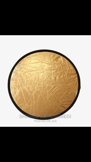 """Round Disc Reflector, 32""""/80cm 2in1 Gold and Silver   Accessories & Supplies for Electronics for sale in Dar es Salaam, Kinondoni"""