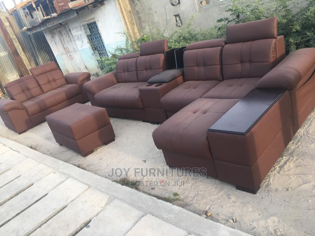 L-Shape Design Sofas | Furniture for sale in Temeke, Dar es Salaam, Tanzania