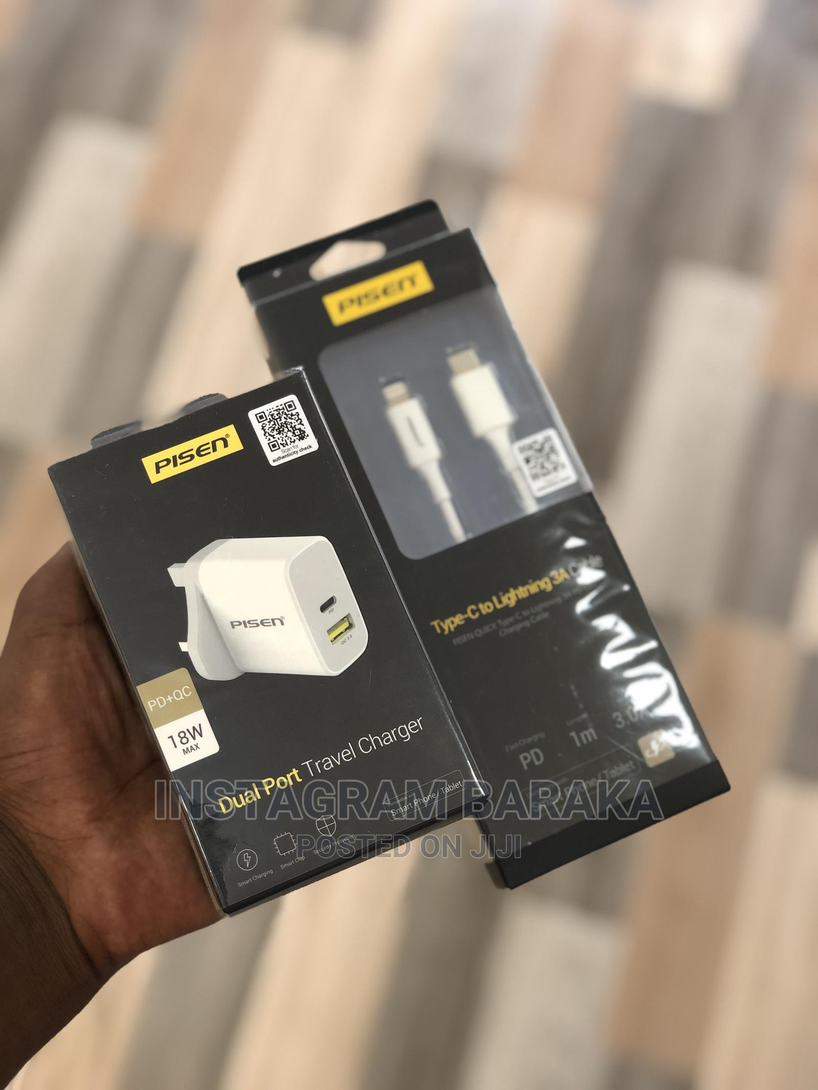 Archive: Pisen iPhone 18w Fast Full Charger