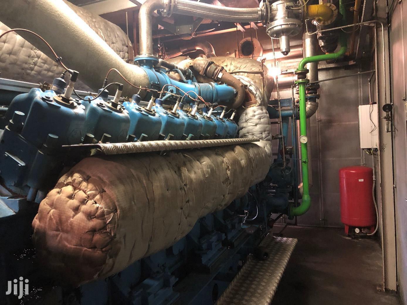 Archive: Used Gas Generator Jenbacher 616