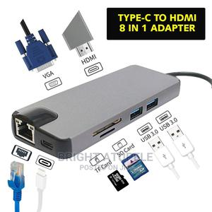 Type C to HDMI 8in01   Computer Accessories  for sale in Dar es Salaam, Kinondoni