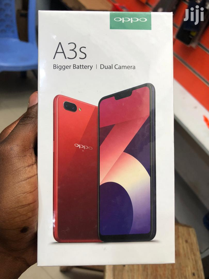 New Oppo A3s 32 GB Blue   Mobile Phones for sale in Ilala, Dar es Salaam, Tanzania