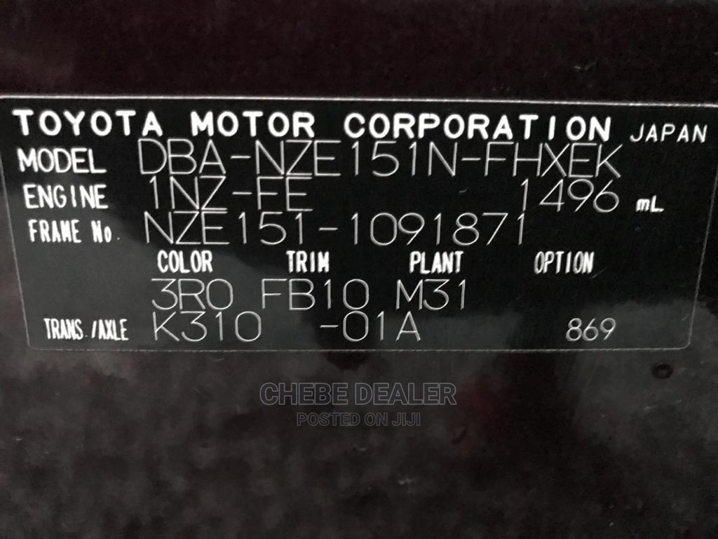 New Toyota Corolla Rumion 2010 Hatchback 1.5 FWD Brown | Cars for sale in Kinondoni, Dar es Salaam, Tanzania