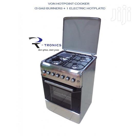 Von Hotpoint Cooker ( 3 Gas +1 Electric )