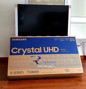 Samsung 55-Inch Class Crystal Uhd Tu - 4K Uhd Hdr Smart TV   TV & DVD Equipment for sale in Dar es Salaam, Kinondoni