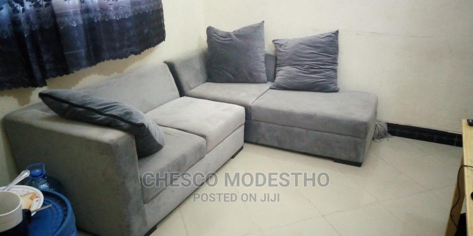 Sofa Set L Shape | Furniture for sale in Kinondoni, Dar es Salaam, Tanzania