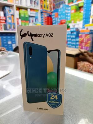 New Samsung Galaxy A02 64 GB Blue   Mobile Phones for sale in Dar es Salaam, Ilala