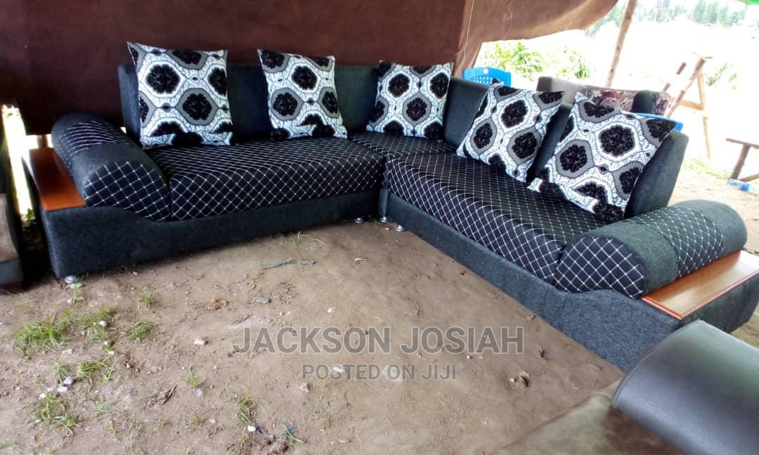 L Shape Sofa Design | Furniture for sale in Kinondoni, Dar es Salaam, Tanzania
