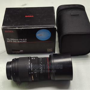Sigma 70-300mm F4-5.6 DG APO Macro Telephoto Zoom Lens Nikon   Accessories & Supplies for Electronics for sale in Dar es Salaam, Kinondoni