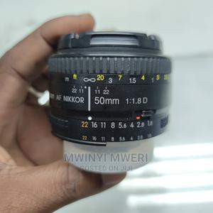 Nikon AF FX Nikkor 50mm F1.8D Lens With Auto Focus For Nikon   Accessories & Supplies for Electronics for sale in Dar es Salaam, Kinondoni