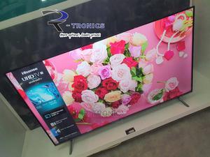 Hisense 55 Inch 4K UHD Frameless Smart LED TV | TV & DVD Equipment for sale in Dar es Salaam, Kinondoni