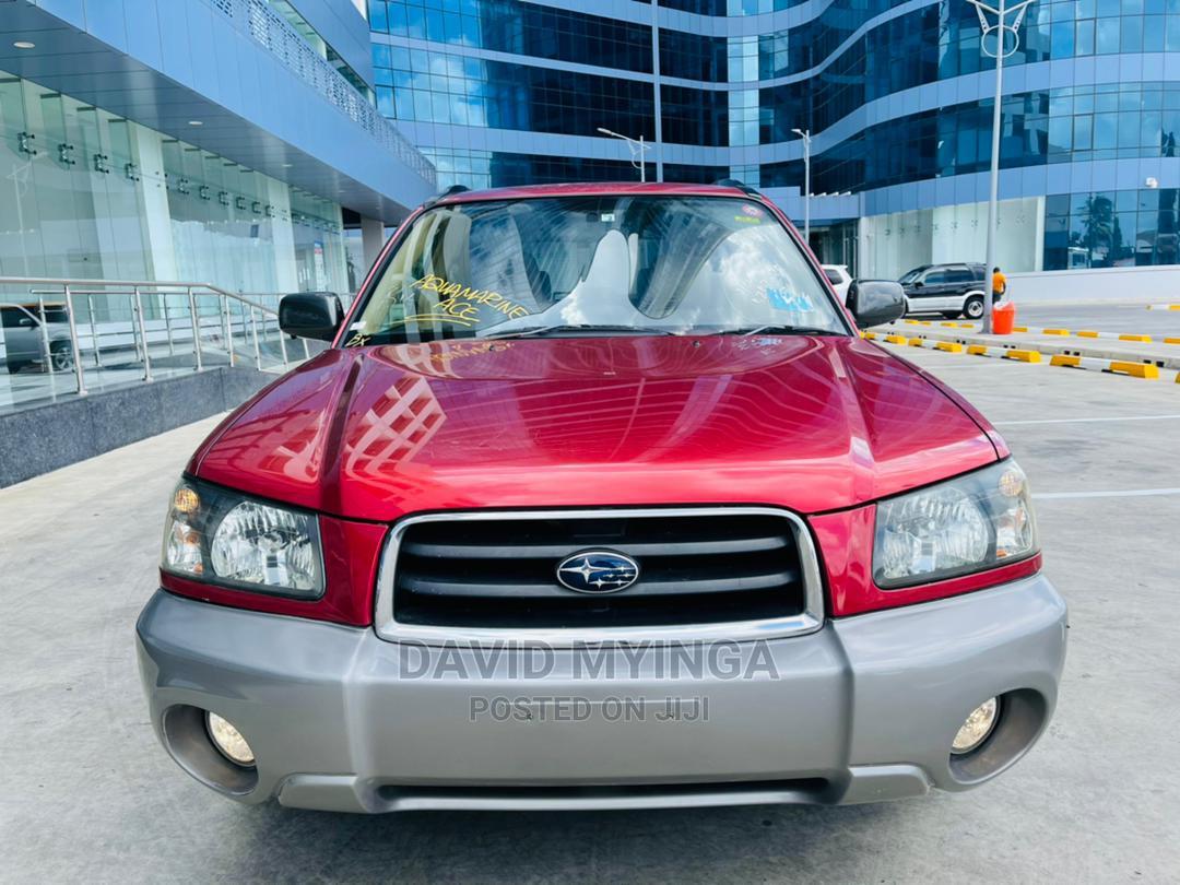 New Subaru Forester 2004