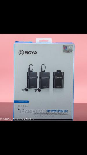 BOYA BY-WM4 Pro K2 Portable 2.4G Wireless Microphone System   Accessories & Supplies for Electronics for sale in Dar es Salaam, Kinondoni