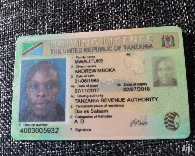 Driver CV   Driver CVs for sale in Ilala, Dar es Salaam, Tanzania