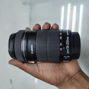Canon EF-S 55-250mm F/4-5.6 IS STM Telephoto Zoom Lens   Accessories & Supplies for Electronics for sale in Dar es Salaam, Kinondoni