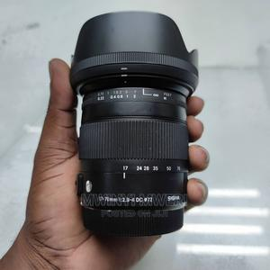 Sigma 17-70mm F/2.8-4 DC Macro OS HSM Lens for Canon EOS | Accessories & Supplies for Electronics for sale in Dar es Salaam, Kinondoni