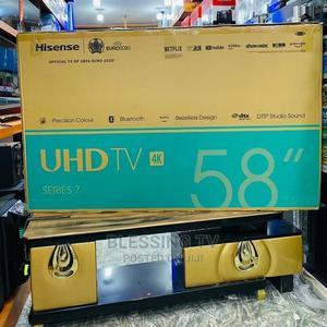 Hisense Inch 58 Smart 4k Tv | TV & DVD Equipment for sale in Dar es Salaam, Ilala