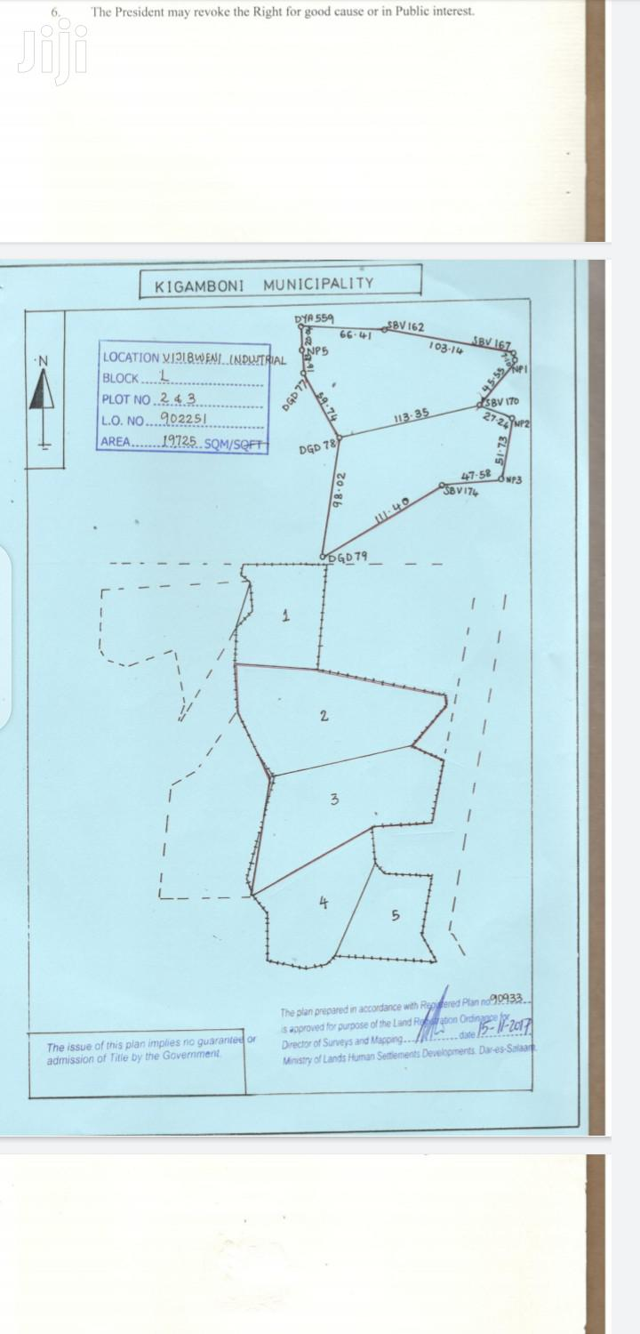 Industry Plot For Sale Dar Tanzania. | Commercial Property For Sale for sale in Kinondoni, Dar es Salaam, Tanzania
