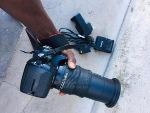 Canon D3200 Lens 55-200   Photo & Video Cameras for sale in Dar es Salaam, Temeke