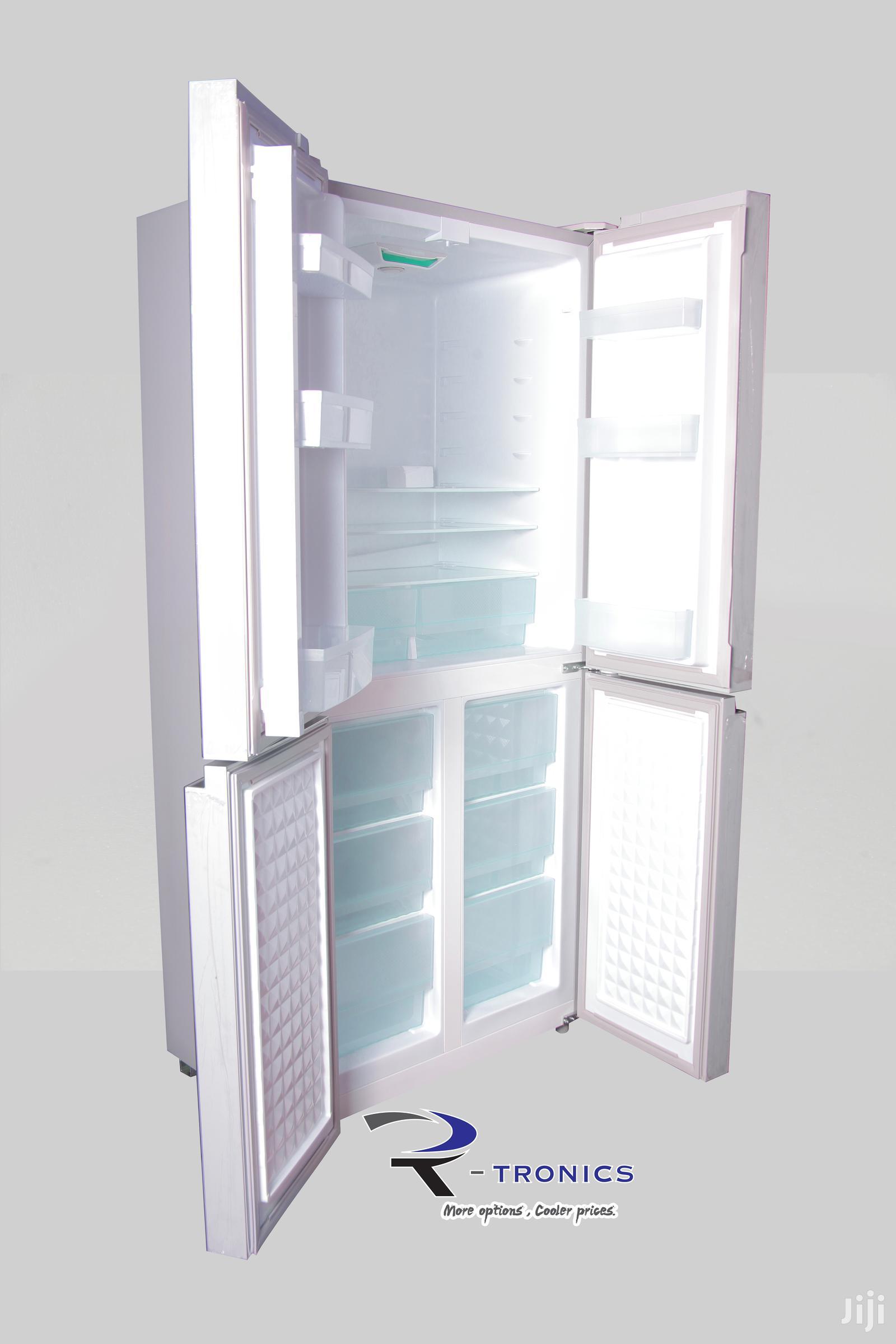 Delta Side By Side 4 Doors 406L Refrigerator – Black | Kitchen Appliances for sale in Kinondoni, Dar es Salaam, Tanzania