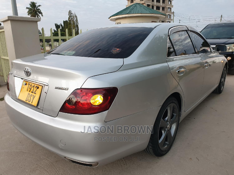 Toyota Mark X 2006 Silver   Cars for sale in Kinondoni, Dar es Salaam, Tanzania