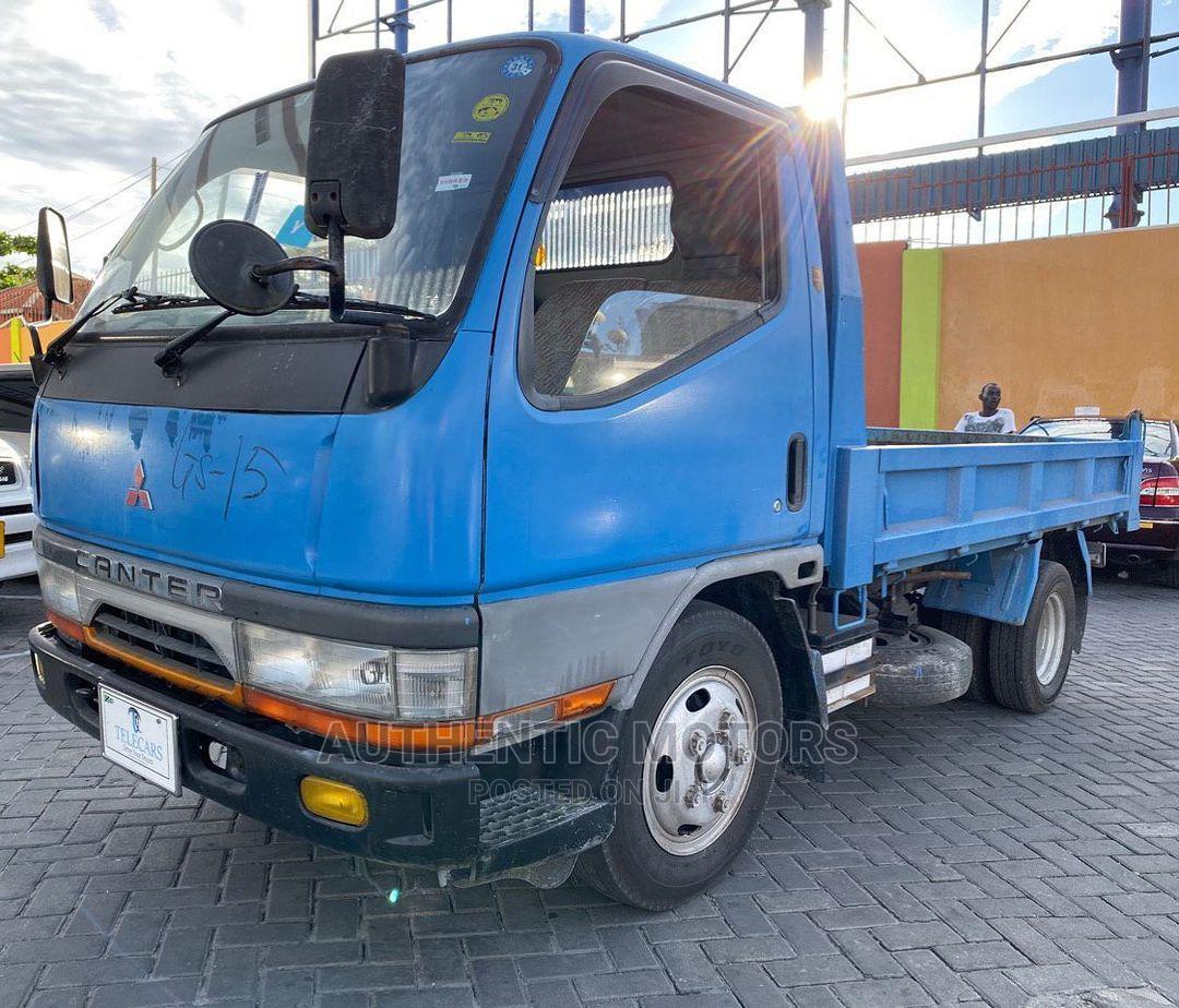 Mitsubishi : Canter Dump 4D33 Ton 2 Manual