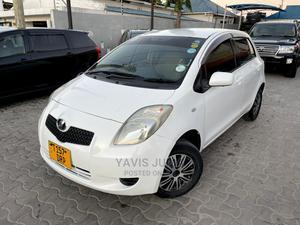 Toyota Vitz 2006 White   Cars for sale in Dar es Salaam, Kinondoni
