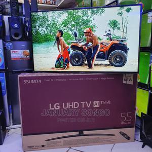 LG Uhd Smart 4K TV Inch 55 | TV & DVD Equipment for sale in Dar es Salaam, Ilala