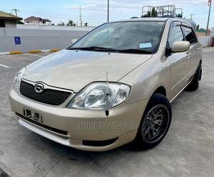 Toyota Corolla RunX 2003 Beige | Cars for sale in Dar es Salaam, Kinondoni