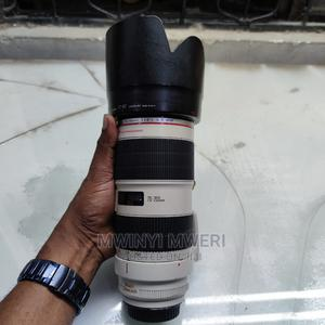 Canon EF 70-200mm F/2.8l IS II USM Telephoto Zoom Lens   Accessories & Supplies for Electronics for sale in Dar es Salaam, Kinondoni