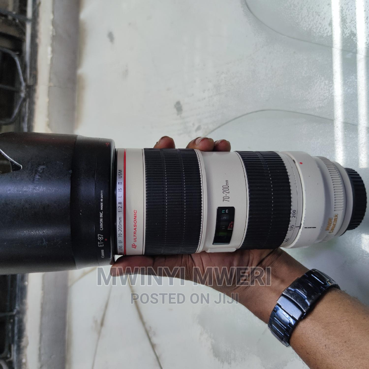 Archive: Canon EF 70-200mm F/2.8l IS II USM Telephoto Zoom Lens